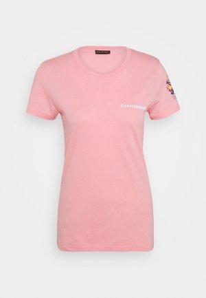 ISABELLA TEE - Print T-shirt - peony pink