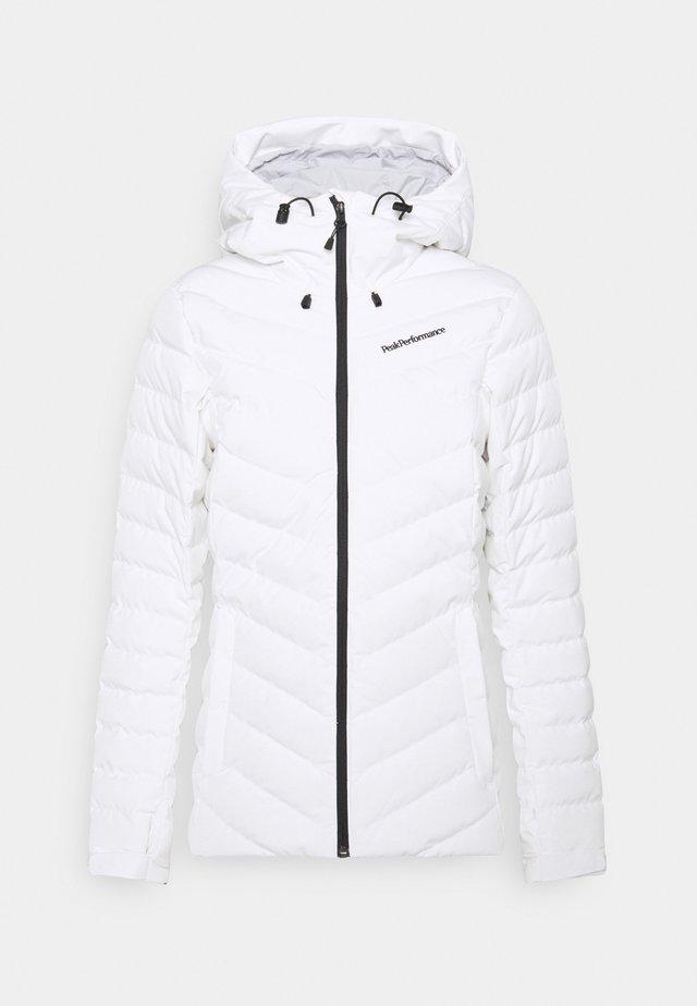 FROST JACKET - Lyžařská bunda - white