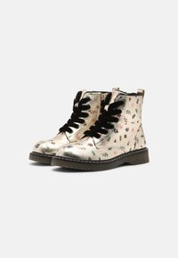 Friboo - Lace-up ankle boots - gold - 1
