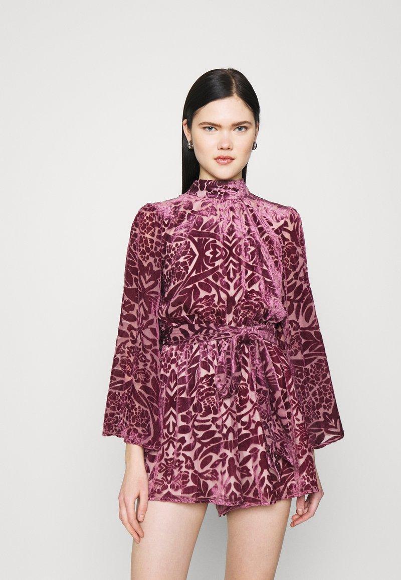Never Fully Dressed - PLAYSUIT - Mono - purple