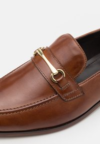 Zign - LEATHER - Smart slip-ons - brown - 5