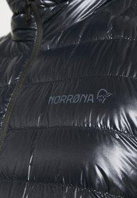 Norrøna - LIGHTWEIGHT JACKET - Down jacket - black - 6