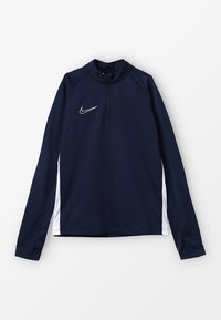 Nike Performance - DRY ACADEMY DRIL - Sports shirt - obsidian/white - 0