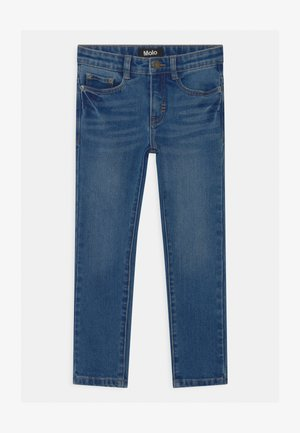 AKSEL - Jeans slim fit - mid blue wash