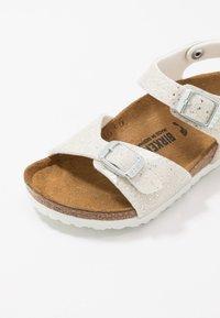 Birkenstock - RIO - Sandals - cosmic sparkle white - 2