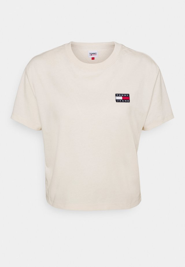 BADGE TEE - T-shirt basique - sugarcane