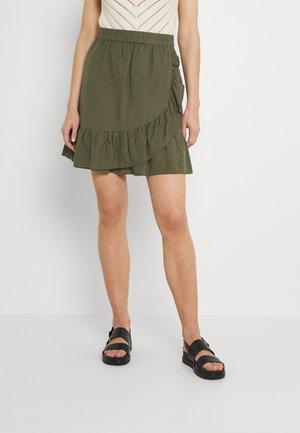ONLCARLY VIVA NEW LIFE  WRAP SKIRT - Mini skirts  - kalamata