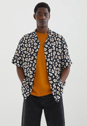 HEMD MIT SPIEGELEI-PRINT - Shirt - black