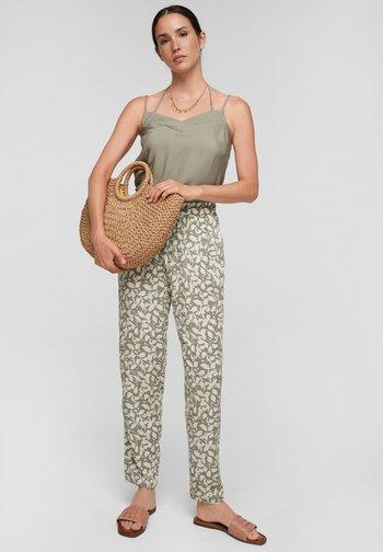Pantaloni - summer khaki aop