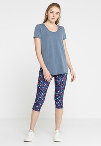 Cotton On Body - GYM - Jednoduché triko - steel blue - 1