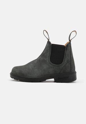 UNISEX - Korte laarzen - rustic black