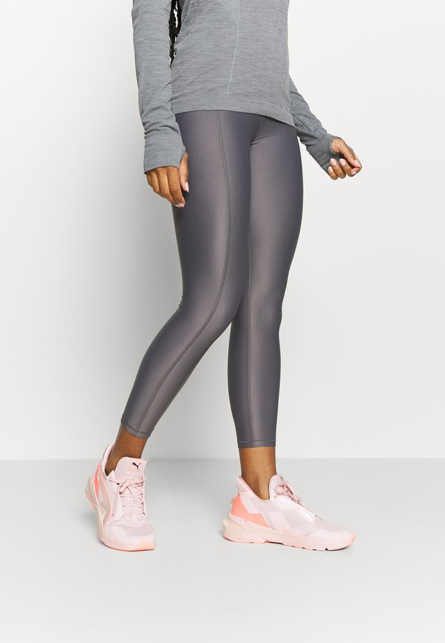 HIGH SHINE 7/8 WORKOUT LEGGINGS - Punčochy - moonrock purple