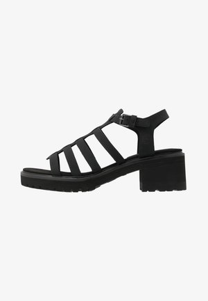 VIOLET MARSH FISHERMAN - Sandalias - black