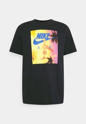TEE BY AIR PHOTO - Print T-shirt - black