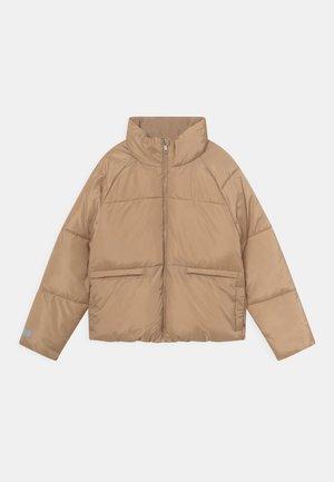 PUFFER DAGMAR - Zimní bunda - beige