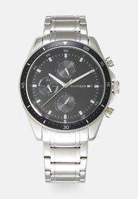 Tommy Hilfiger - PARKER - Watch - silver-coloured/black - 0