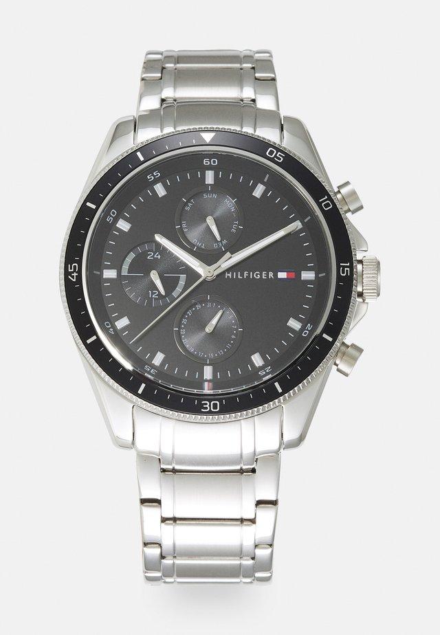PARKER - Klokke - silver-coloured/black