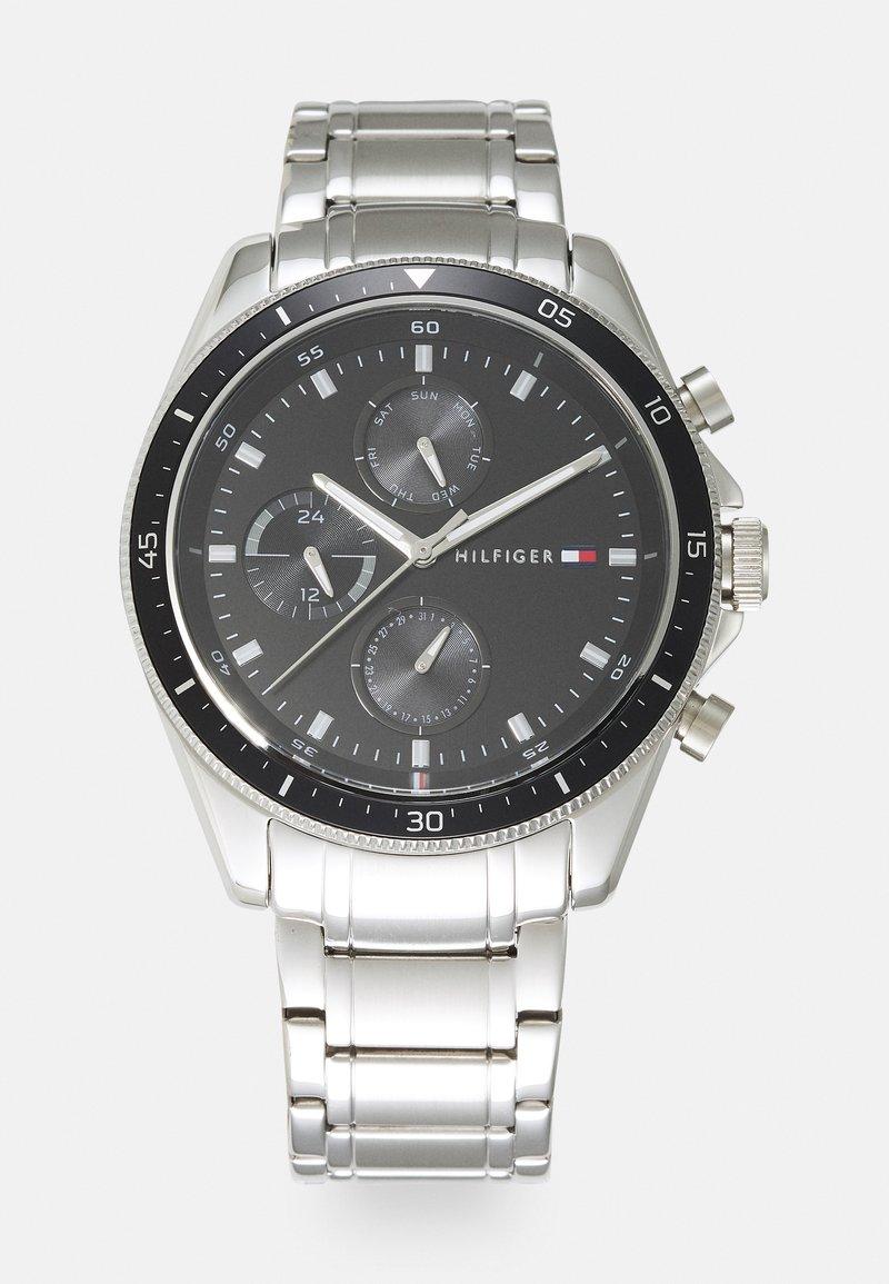 Tommy Hilfiger - PARKER - Watch - silver-coloured/black