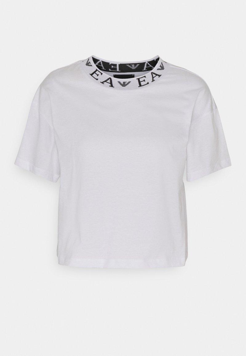 Emporio Armani - Jednoduché triko - white