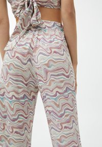PULL&BEAR - Trousers - mottled beige - 4