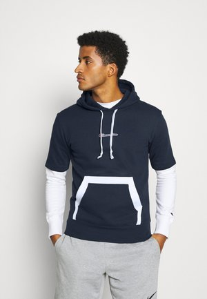 HOODED - Sweat à capuche - dark blue