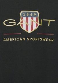 GANT - ARCHIVE SHIELD - T-shirt med print - black - 5