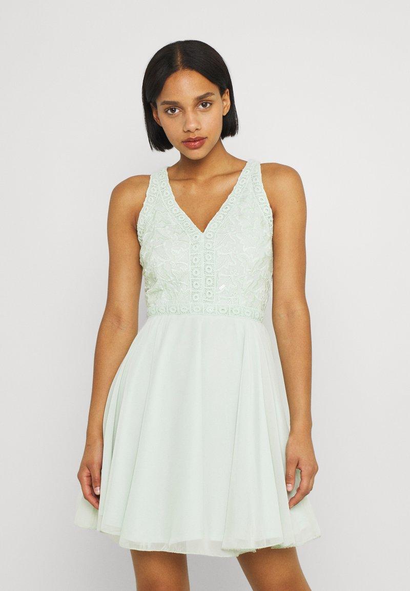 Lace & Beads - CHERELLE SKATER - Koktejlové šaty/ šaty na párty - mint