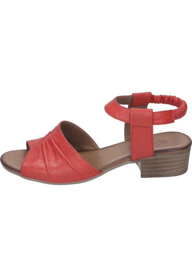 Piazza - Sandals - rot