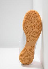 adidas Performance - NEMEZIZ MESSI 19.4 IN - Indoor football boots - footwear white/solar red/football blue - 5