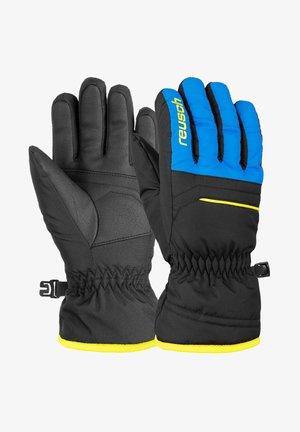 ALAN JUNIOR - Gloves - blck bril blu safety yell