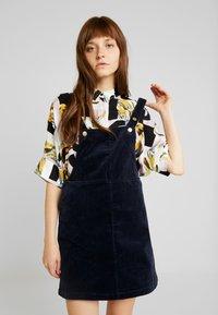Monki - RICCI DRESS - Day dress - darknavy - 0