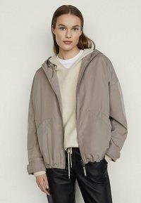 Massimo Dutti - Summer jacket - grey - 0