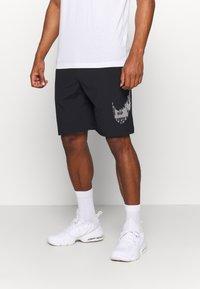 Nike Performance - M FLX GFX - Sports shorts - black - 0