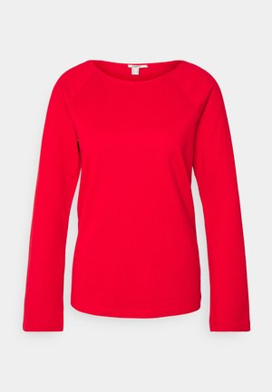 HEAVY TEE - Long sleeved top - red