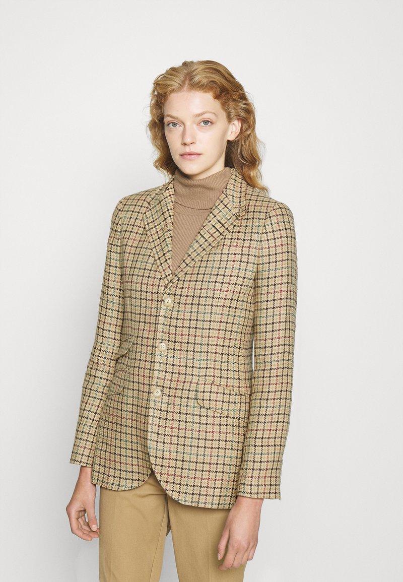Polo Ralph Lauren - Blazer - brown houndstooth