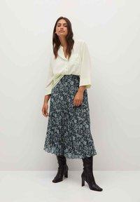 Violeta by Mango - PARADIS - A-line skirt - blau - 1