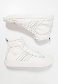 Diesel - S-ASTICO MID LACE - High-top trainers - weiß - 1