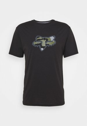 PREDATOR TECH TEE - Print T-shirt - black