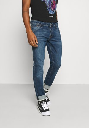 JJIGLENN JJFOX AGI NOOS - Slim fit -farkut - blue denim