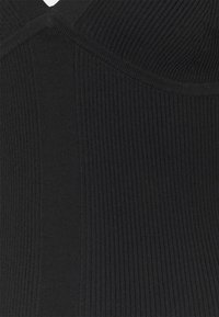 Calvin Klein Jeans - STRAPPY LONG KNITTEDDRESS - Jumper dress - ck black - 2