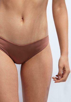 MIT HOHEM BEINAUSSCHNITT INDONESIA ECO - Bikini-Hose - indian brown