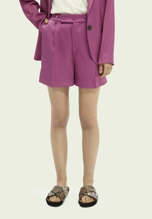 TAILORED IN SHINY QUALITY - Shorts - orchid