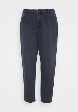HIGH RISE MOM - Relaxed fit jeans - dark grey
