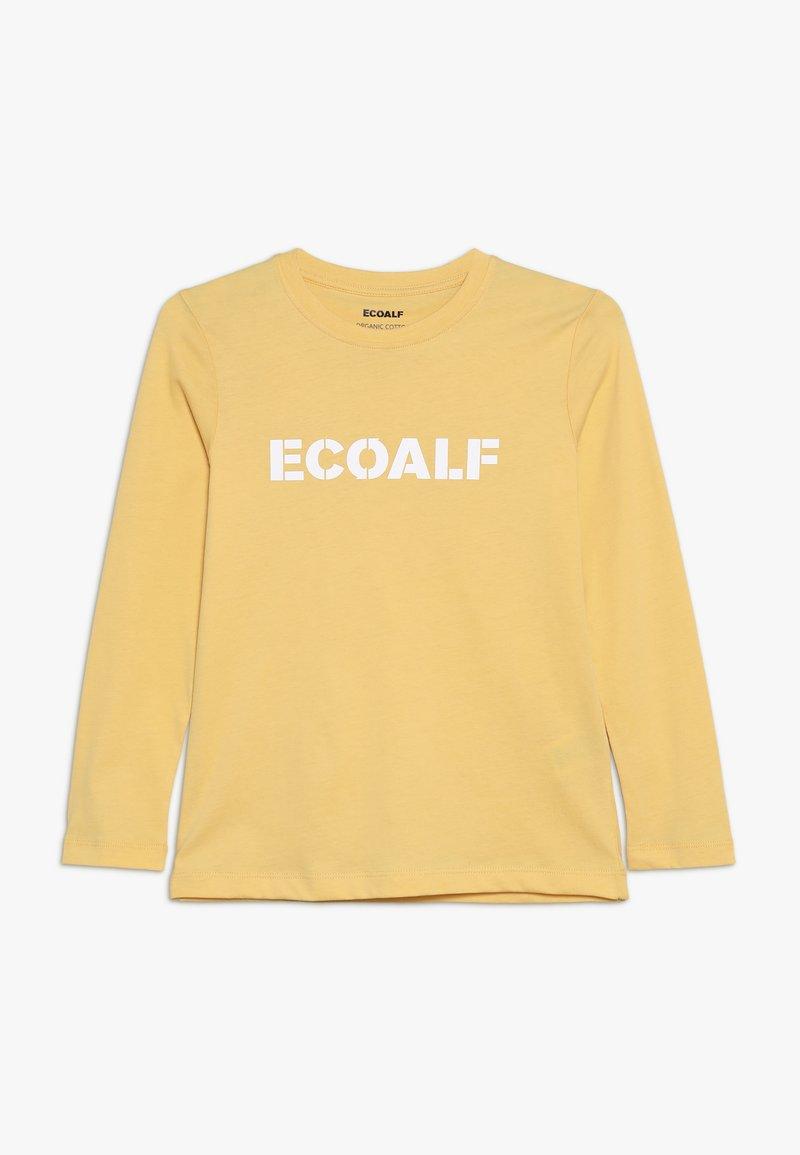 Ecoalf - SLEEVE - Long sleeved top - dark yellow