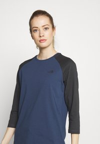 The North Face - WOMENS CORREIA TEE - Langarmshirt - blue wing teal - 3