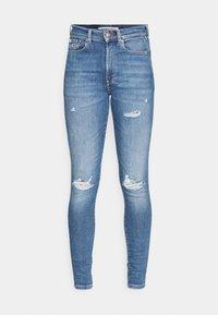 Tommy Jeans - SYLVIA - Jeans Skinny Fit - denim light - 4
