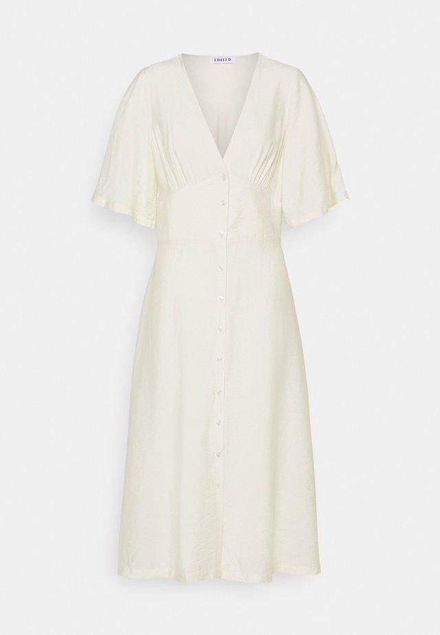 VERA DRESS - Korte jurk - white