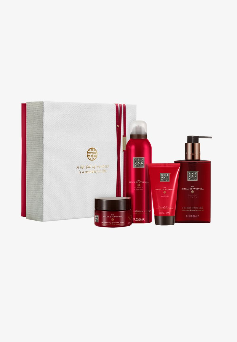 Rituals - THE RITUAL OF AYURVEDA - REBALANCING RITUAL 2019 GESCHENKSET MEDIUM - Bath and body set - -