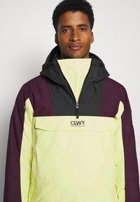 COLOURWEAR - ANORAK - Snowboard jacket - yellow - 4