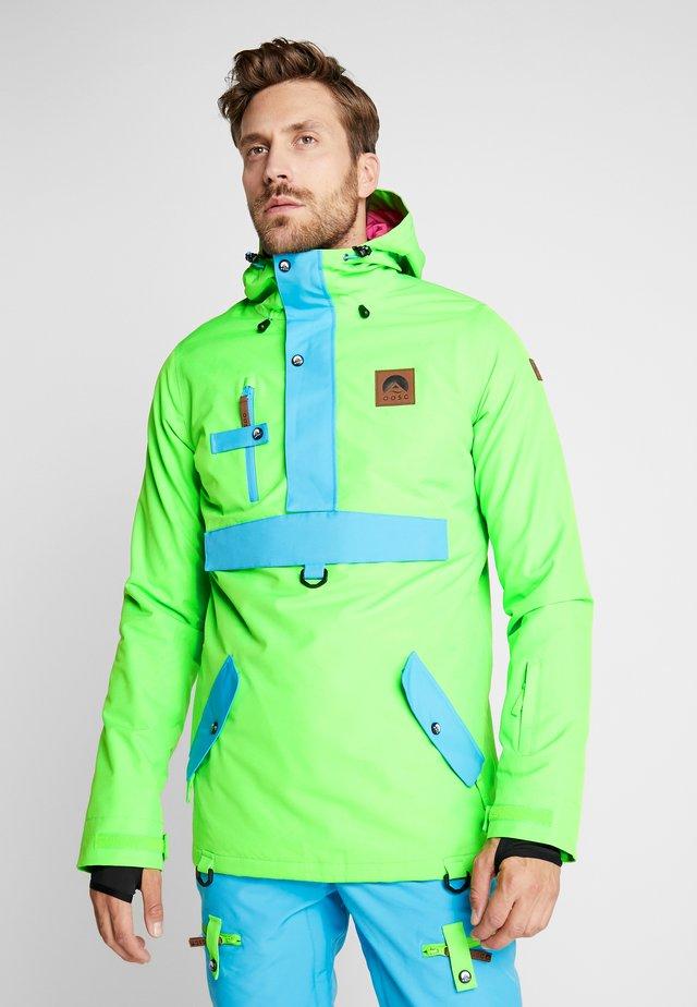 OVERHEAD JACKET - Ski jas - green